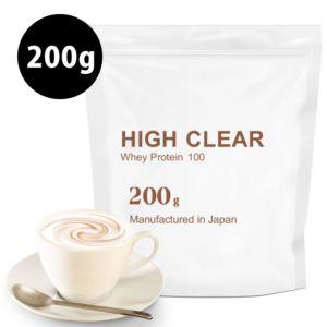 [日本 High Clear] 濃縮乳清蛋白-濃郁咖啡歐蕾口味(200g/袋)
