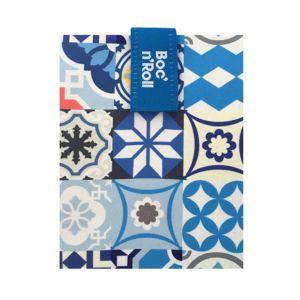 Roll'eat西班牙輕食袋-拼布藍