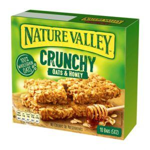 [NATURE VALLEY 天然谷] 纖穀派-蜂蜜燕麥 (42gx5包x5盒)