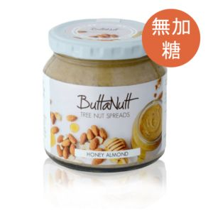 [ButtaNutt] 蜂蜜杏仁夏威夷豆醬(250g/罐)