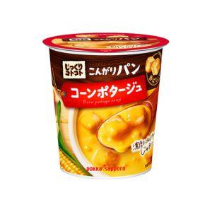 [日本 POKKA] 玉米濃湯杯-超大塊麵包丁 (31.4g/杯)