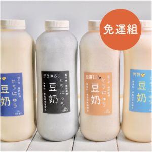 [豆豆客棧] 960ml不濾渣豆漿5入組 (免運)