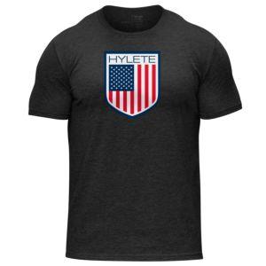 [美國 Hylete] 訓練短袖-美國國旗
