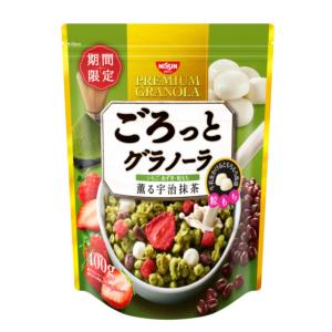 [日清 Nissin] 期間限定宇治金時抹茶麥片 (400g/包)