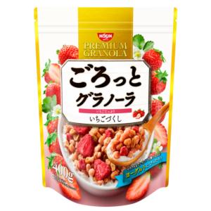 [日清 Nissin] 草莓早餐穀物麥片 (400g/袋)