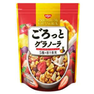 [日清 Nissin] 5種水果楓糖穀物麥片 (400g/袋)