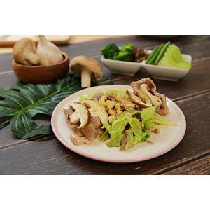 [原味時代] 健康調理餐:蒜香肉片佐時蔬3餐