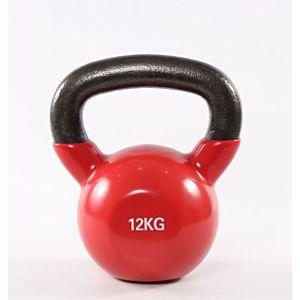 [ABsport] 包膠壺鈴12kg-紅