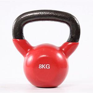 [ABsport] 包膠壺鈴8kg-紅
