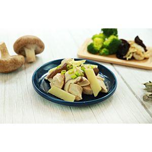 [原味時代] 低醣無澱粉餐:香菇筍片雞3餐