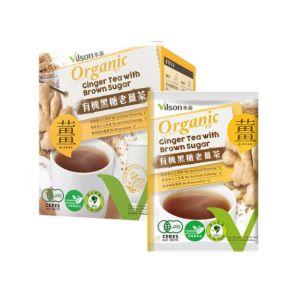 [米森] 有機黑糖老薑茶(20g x8包/盒)