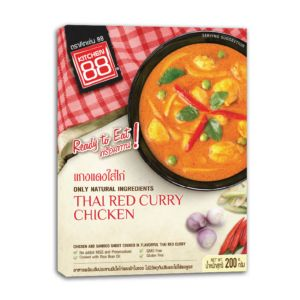 [Kitchen 88] 泰式紅咖哩雞即食包(200g/盒)