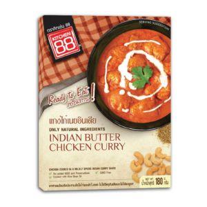[Kitchen 88] 印度奶香雞肉咖哩即食包(180g/盒)