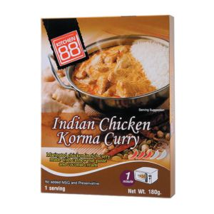 [Kitchen 88] 印度Korma咖哩雞肉即食包(180g/盒)