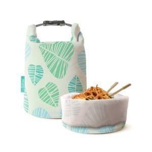 [Roll'eat] 西班牙桶裝食物袋-可裝湯水 (葉紋拓印亞洲限定款)
