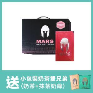[台灣 Mars戰神] 低脂乳清-草莓牛奶(60包/盒)