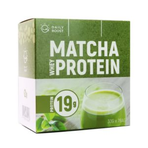[Daily Boost] 運動乳清蛋白粉-宇治抹茶(7包/盒)