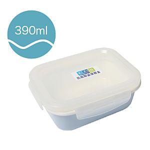 [Neoflam] 長方型陶瓷保鮮盒(390ml/淡藍色)