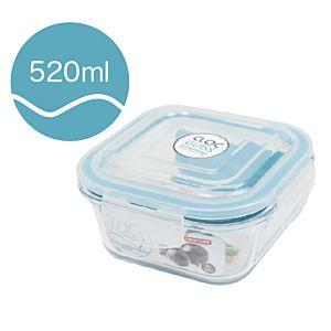[Neoflam] CLOC系列玻璃保鮮盒 (正方形/520ml)