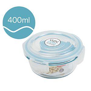 [Neoflam] CLOC系列玻璃保鮮盒 (圓形/400ml)