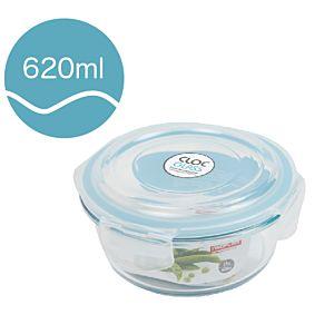 [Neoflam] CLOC系列玻璃保鮮盒 (圓形/620ml)