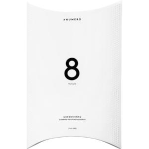 韓國Numero8號深層潔淨保濕面膜(27mlx8片)