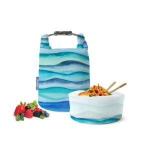 [Roll'eat] 西班牙桶裝食物袋-可裝湯水 (藍色海洋亞洲限定款)