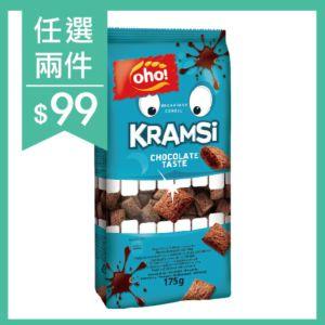 [立陶宛oho!] 巧克力夾心穀枕(175g/袋)
