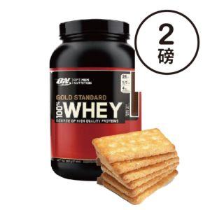 [ON] 金牌乳清蛋白粉-餅乾 (2磅/罐)