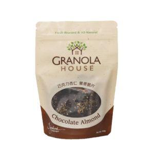 [小麥的家] 杏仁巧克力果麥脆片 (160g/袋)