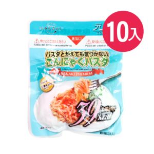 [日本 NAKAKI] 蒟蒻纖食義大利麵 10入組(180g/袋)