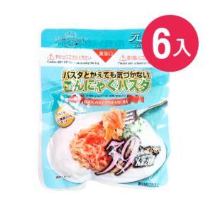 [日本 NAKAKI] 蒟蒻纖食義大利麵 6入組(180g/袋)