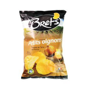 [法國 Bret's布列滋] 洋蔥風味洋芋片(125g/包)