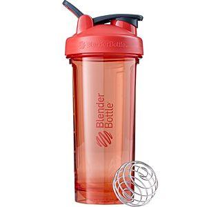 [Blender Bottle] Pro28搖搖杯(828ml/28oz)-粉焰橘