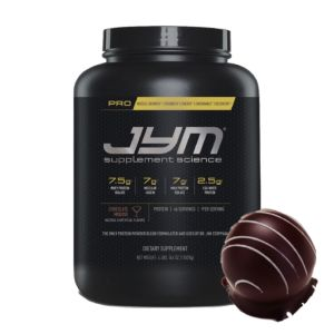 [美國 JYM] Pro JYM 長效綜合乳清蛋白-巧克力慕斯風味(4磅/罐)