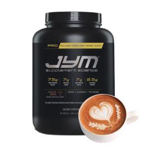 [美國 JYM] Pro JYM長效綜合乳清蛋白粉-焦糖瑪奇朵風味(4磅/罐)