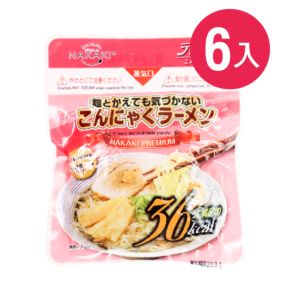 [日本 NAKAKI] 蒟蒻纖食拉麵 6入組(180g/袋)