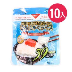 [日本 NAKAKI] 蒟蒻纖食米 10入組(180g/袋)