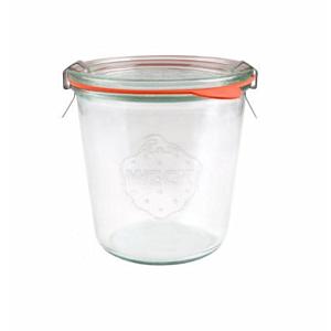 [德國Weck]742高筒圓玻璃罐(附玻璃蓋與密封配件)