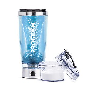 [英國 Promixx] Vortex Mixer 2.0電動渦輪隨行杯-金屬銀(600ml)