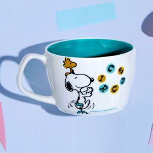 [Snoopy 史努比] 馬戲團系列馬克杯-單輪車款 (440ml)
