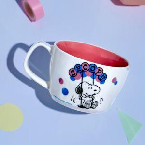 [Snoopy 史努比] 馬戲團系列馬克杯-鞦韆款 (440ml)