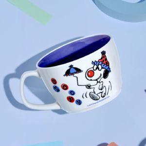 [Snoopy 史努比] 馬戲團系列馬克杯-小傘款 (440ml)