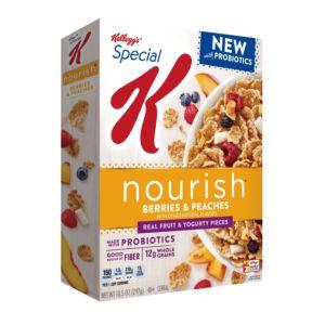 [家樂氏] Special K 莓果蜜桃優格 穀物早餐 (297g/盒)