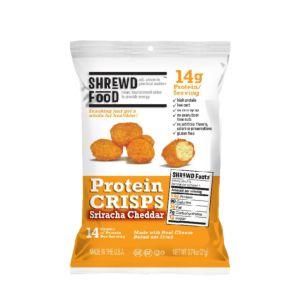 [美國 Shrewd Food] 低碳高蛋白泡芙-是拉差辣味切達起司(21g/包)