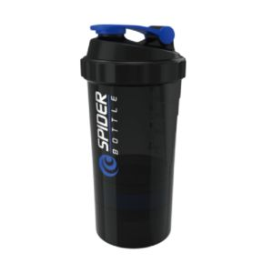 [Spider Bottle] 德國專利螺旋震盪彈簧三層搖搖杯(600ml)-藍色