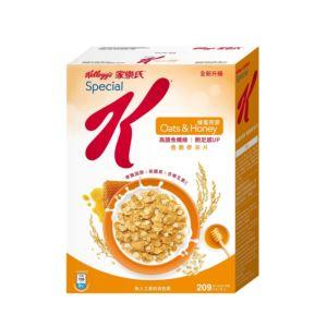 [家樂氏] Special K香脆麥米片-蜂蜜燕麥 (209g)