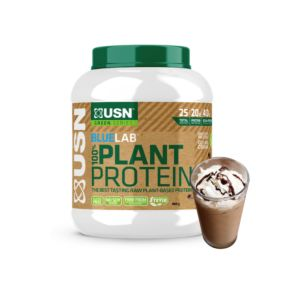 [南非 USN] Plant Protein 植物性蛋白-巧克力摩卡口味(900g/罐)