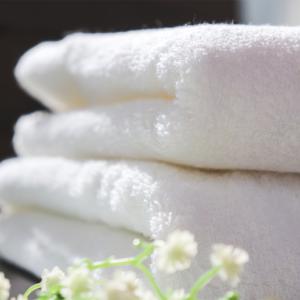 韓國松月毛巾-白色-80X40cm
