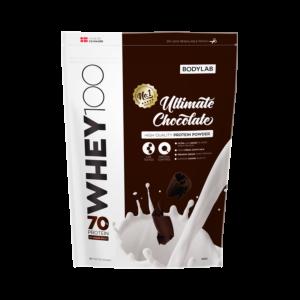 [丹麥 BODYLAB] Whey 100 乳清蛋白 - 香濃巧克力(1KG/袋)